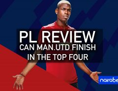pl review; man utd in the top four