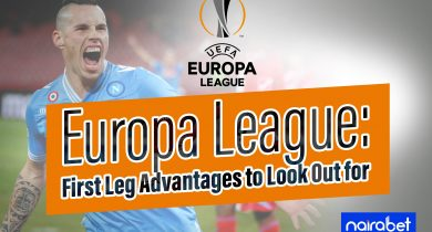 Europa league; first leg advantage