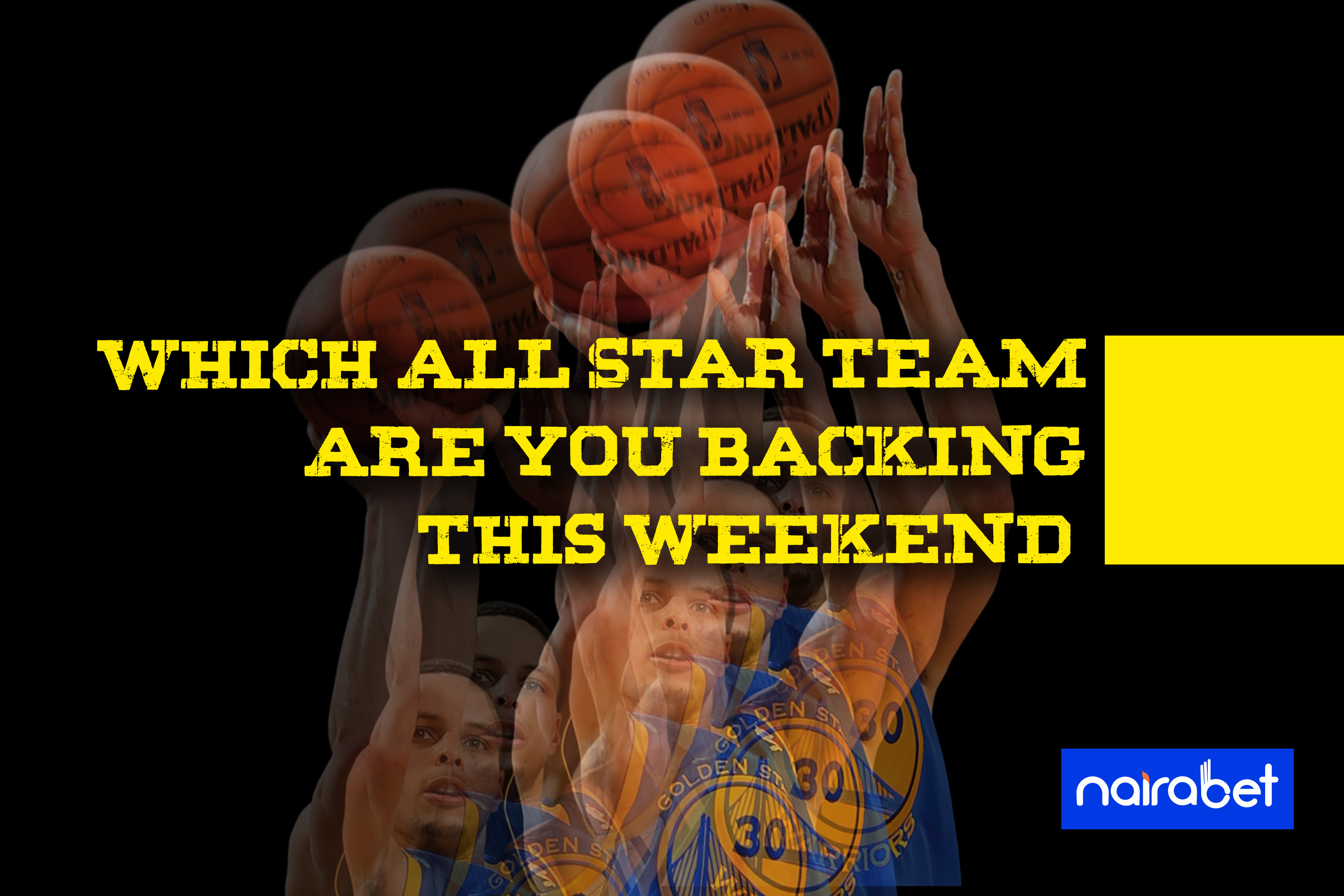 all star team backing weekend