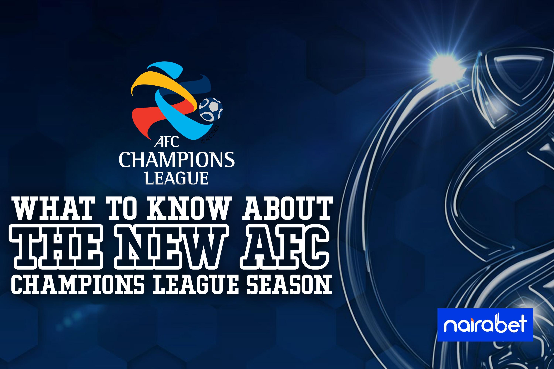 new afc champions league season