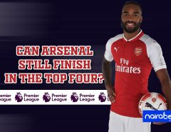 arsenal top four finish