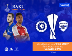 Goalless Draw money back; europa league final
