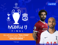 UCL Final 2019, goalless draw money back