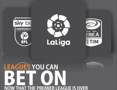 Leagues to bet on; premier league is over