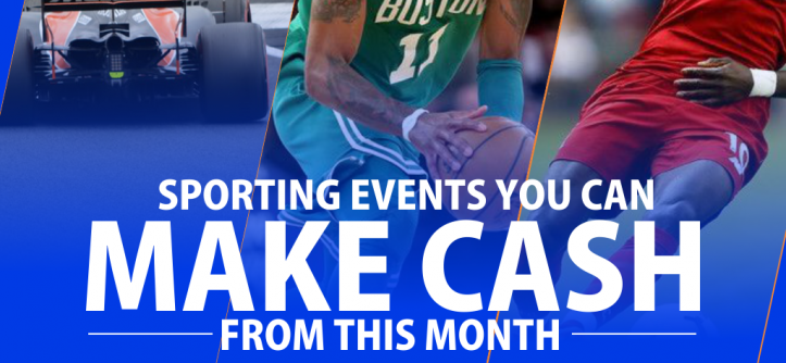 Sporting Events You Can Make Cash from This Month