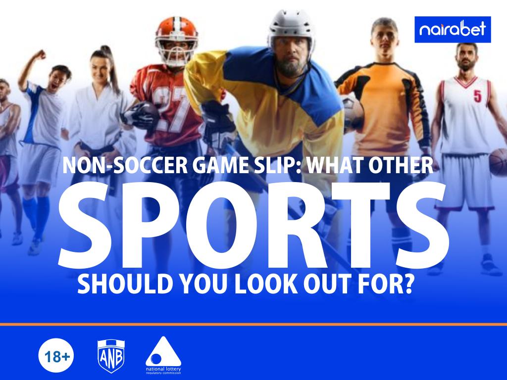 non-soccer game slip