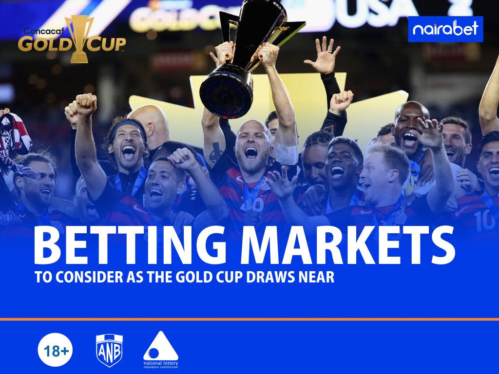 5 Betting Markets to Consider as The Gold Cup Draws Near