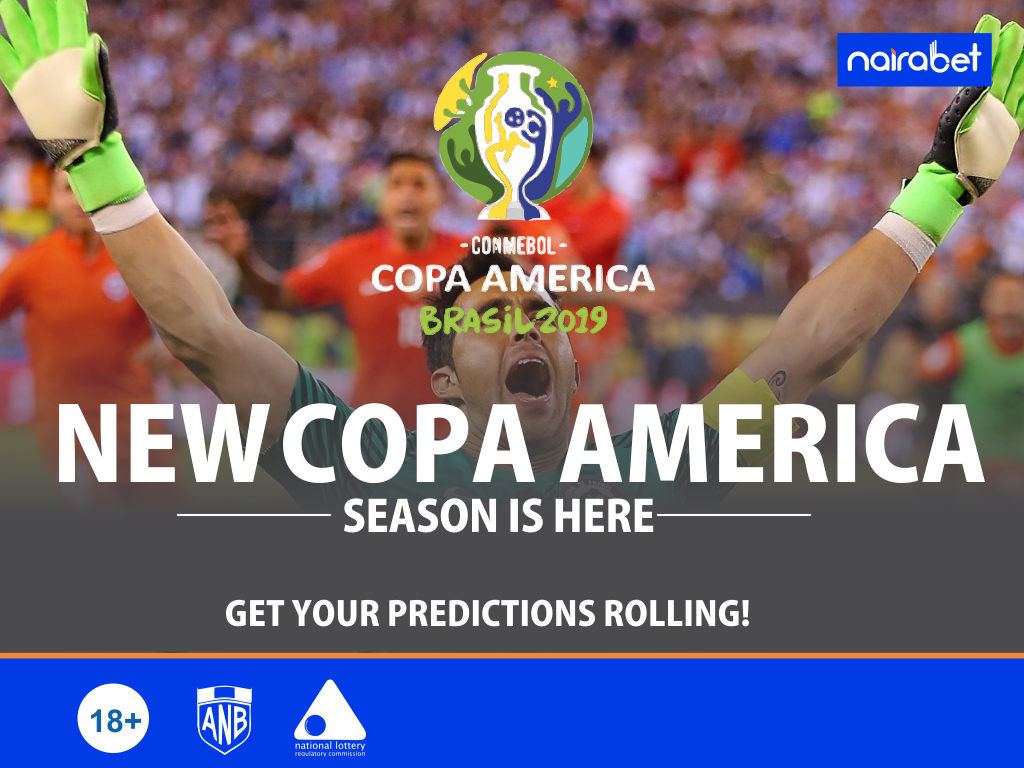 New Copa America Season Is Here. Get Your Predictions Rolling In!