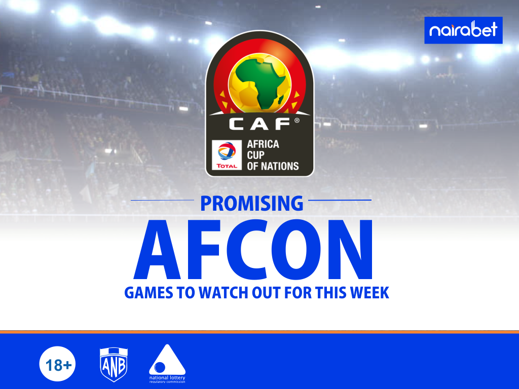 Promising AFCON Games to Watch Out for This Week