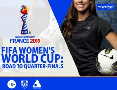 FIFA Women's World Cup: Road to Quarterfinals