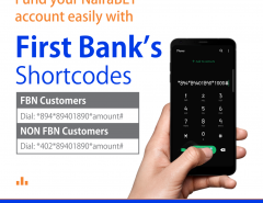 Fund Your NairaBET Account with FirstBank USSD and mCASH