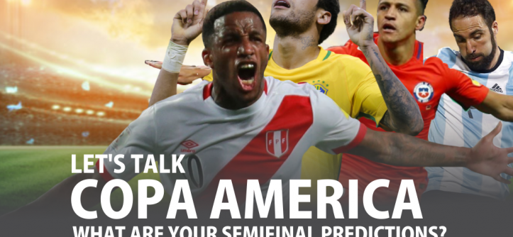Let's talk Copa America semifinals