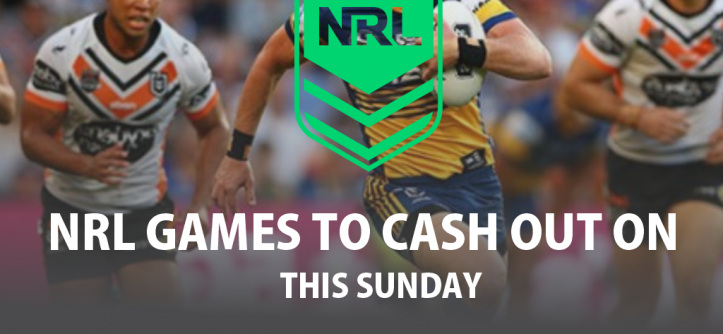 NRL Games to Cash out on