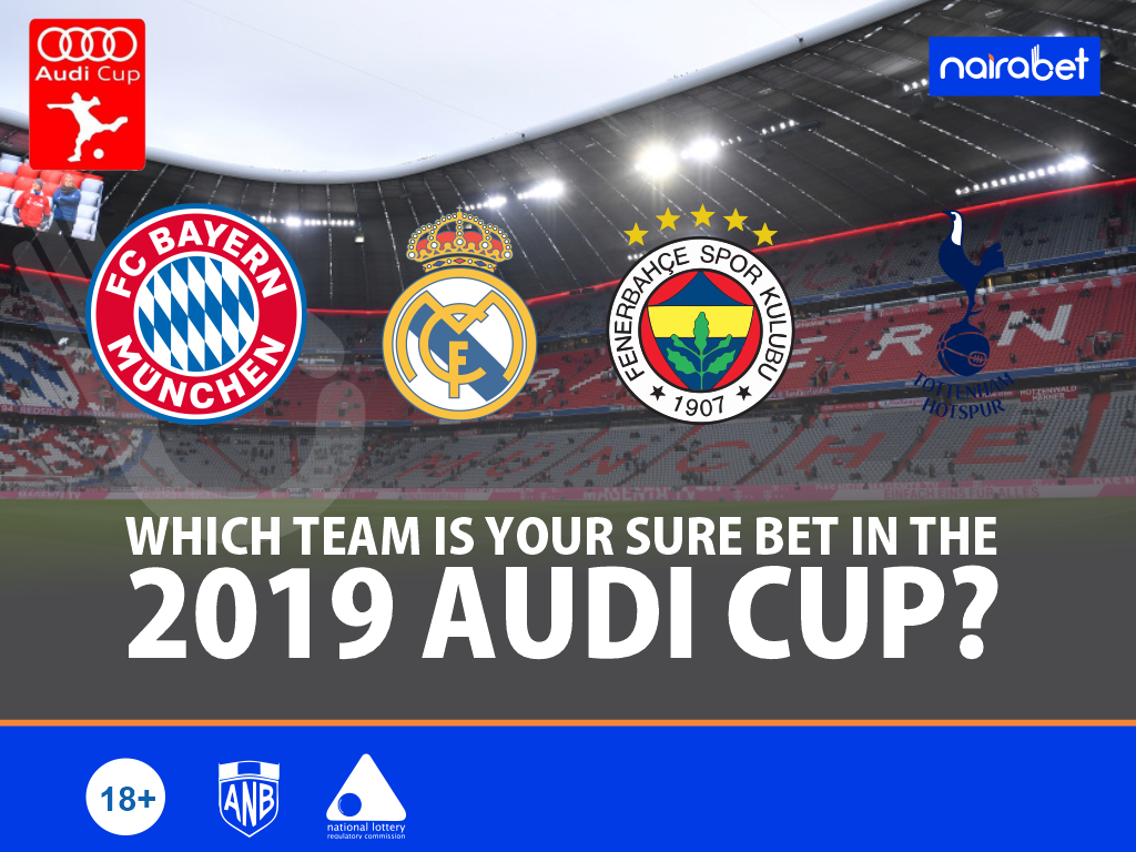 Which Team Is Your Sure Bet in the 2019 Audi Cup?