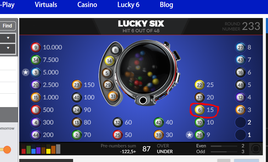 Lucky 6 picture 1