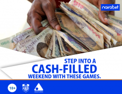 Step into A Cash-Filled Weekend with These Games