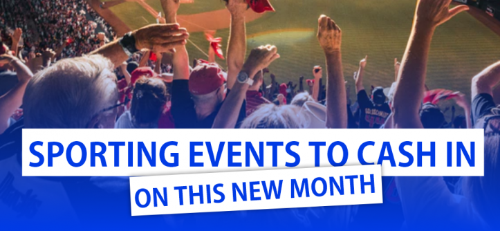 Sporting Events This New Month