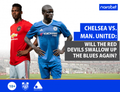 Chelsea vs. Man. United Will the Red Devils Swallow Up the Blues Again (1)