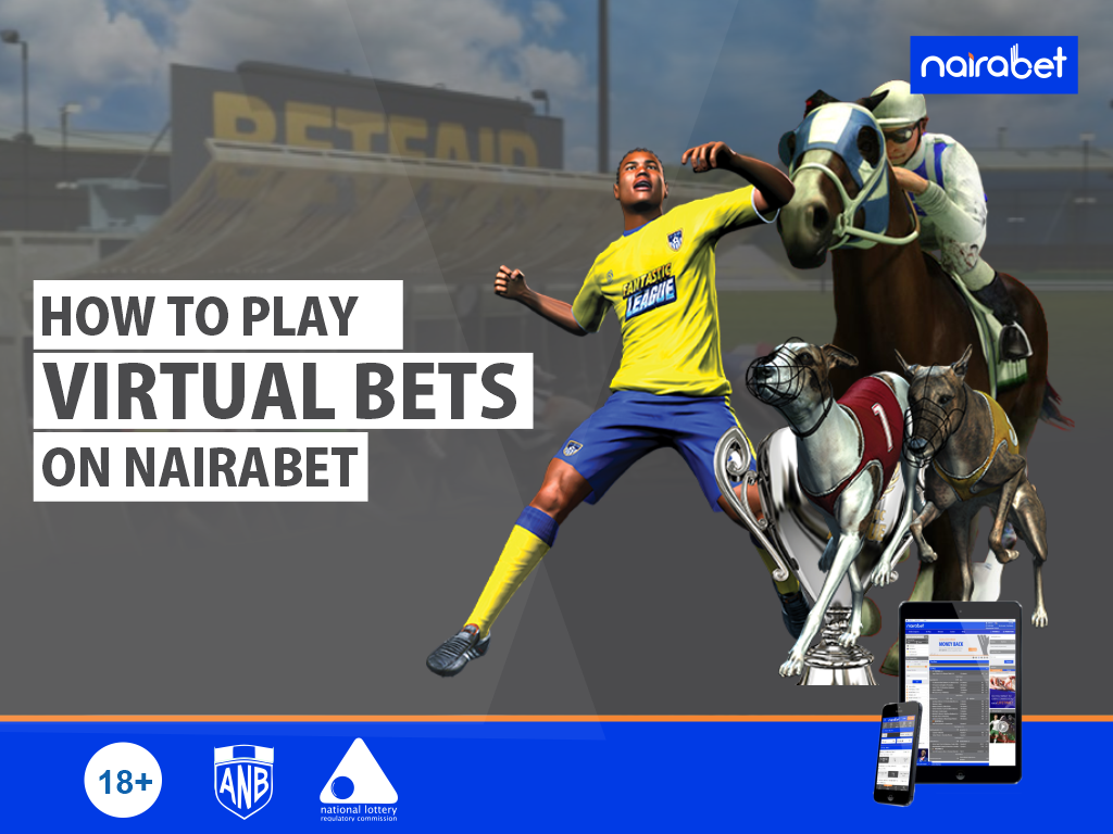NairaBET Virtual Football Bet Slip on NairaBET