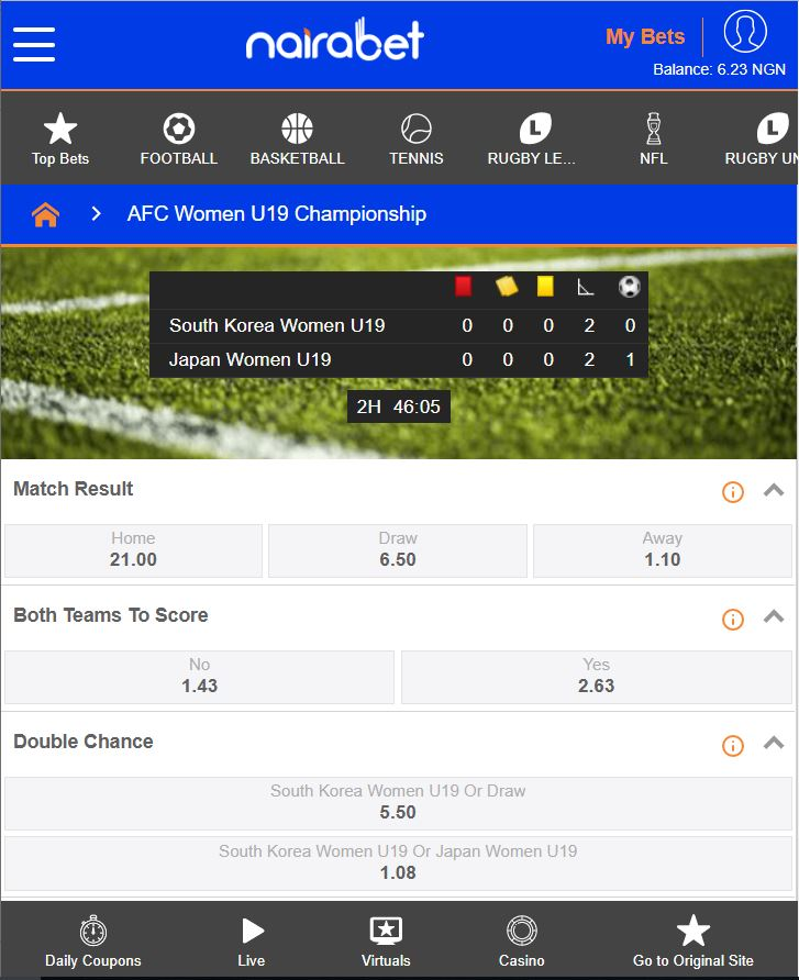 How to place bet on nairabet com old tv shows on bet
