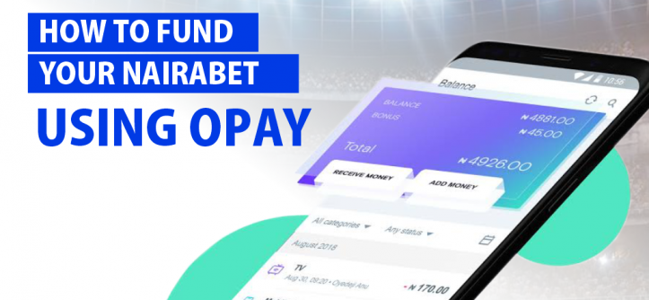 How to Fund Your Nairabet Using Opay