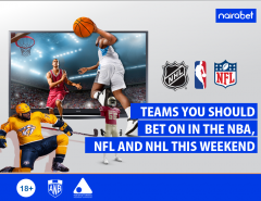 Teams You Should Bet On in the NBA, NFL and NHL this Weekend
