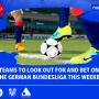 the German Bundesliga This Weekend