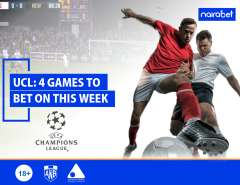 UCL 4 Games to Bet on This Week