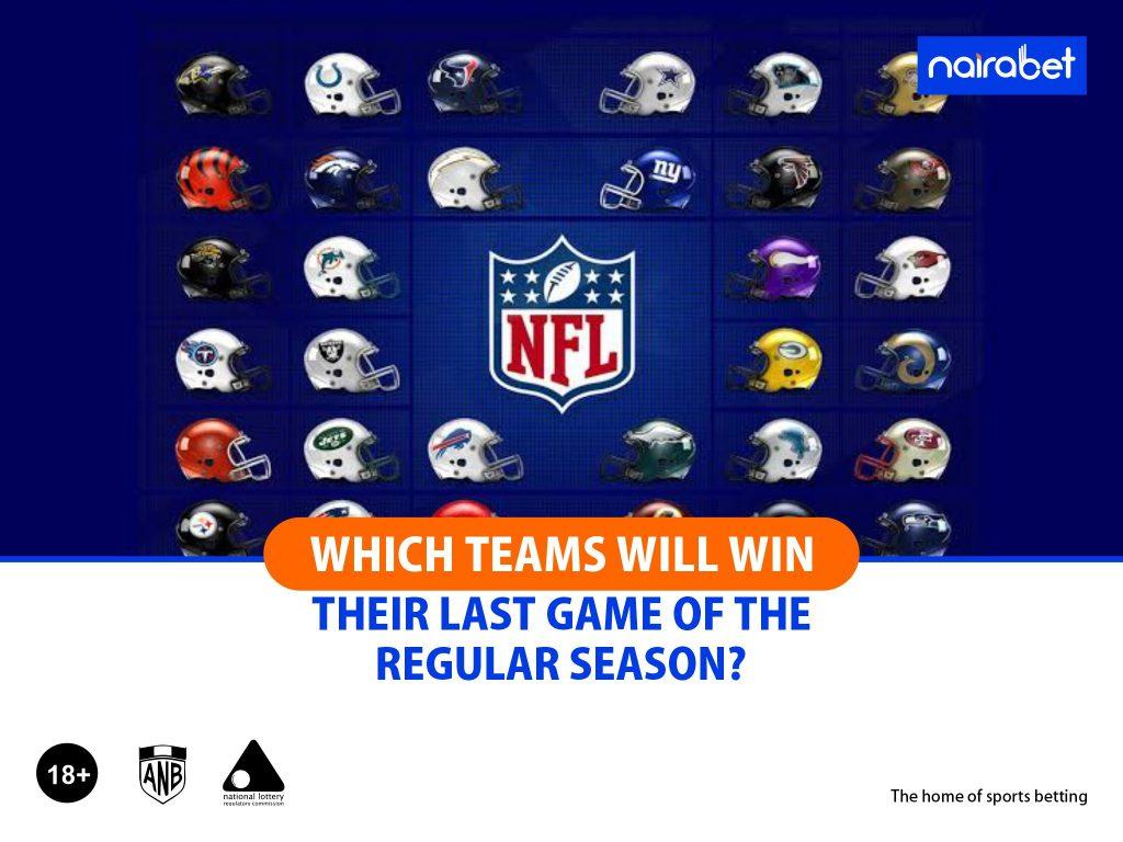 NFL last games
