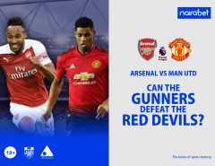 Can the Gunners Defeat the Red Devils?