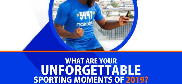 What are Your Unforgettable Sporting Moments of 2019