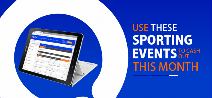 Sporting Events Cash Out