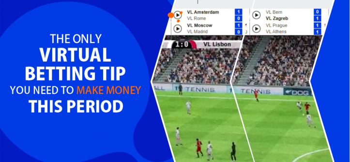 virtiual betting tip make money