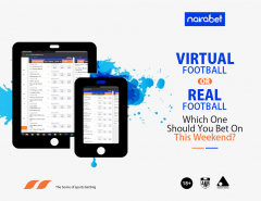 virtual vs real football