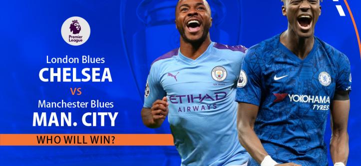London Blues (Chelsea) vs. Manchester Blues (Man. City)