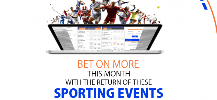 the Return of These 5 Sporting Events