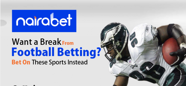 Sports bets instead of football