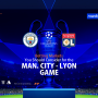 Man. City - Lyon Game