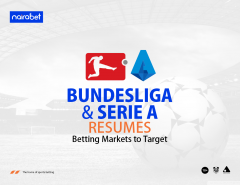 Bundesliga and Serie A resumes