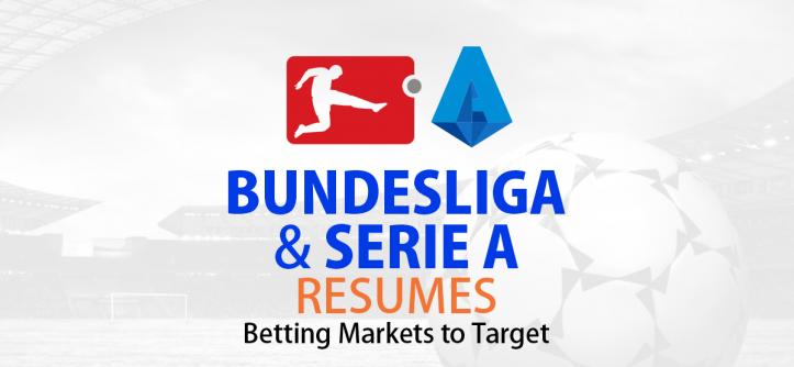Bundesliga and Serie A resumes