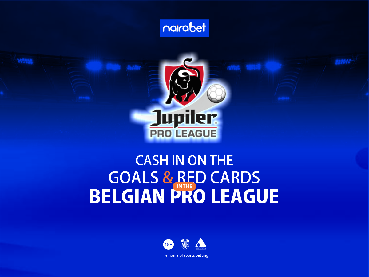 Cash in on the Goals and Red Cards in the Belgian Pro ...