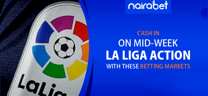 Midweek LaLiga action