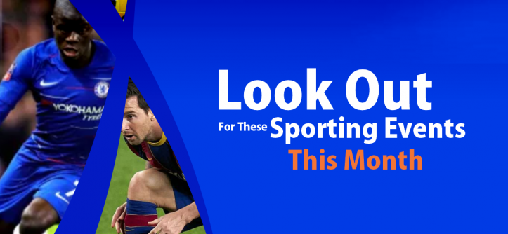 Sporting Events This Month