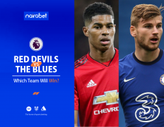Red Devils vs. The Blues