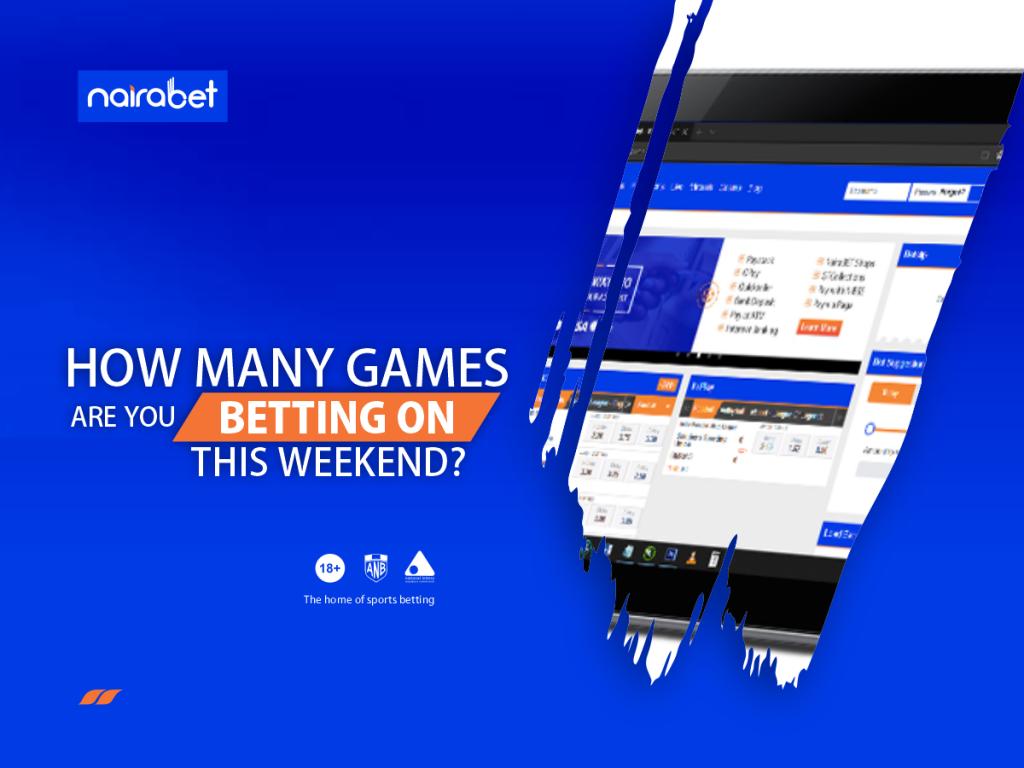 Games bet weekend