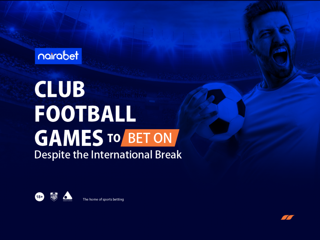 International Break football games
