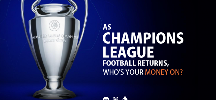 Champions League football returns