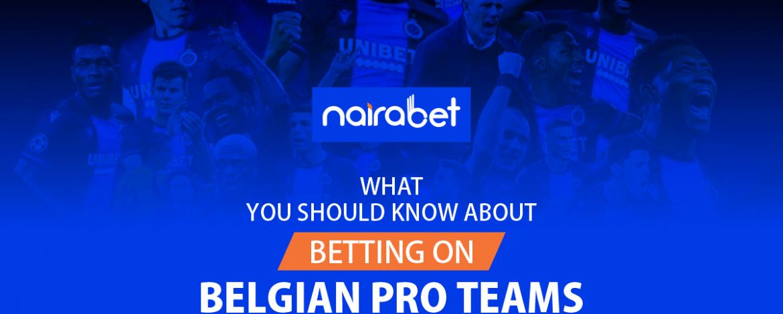 Belgian Pro Teams