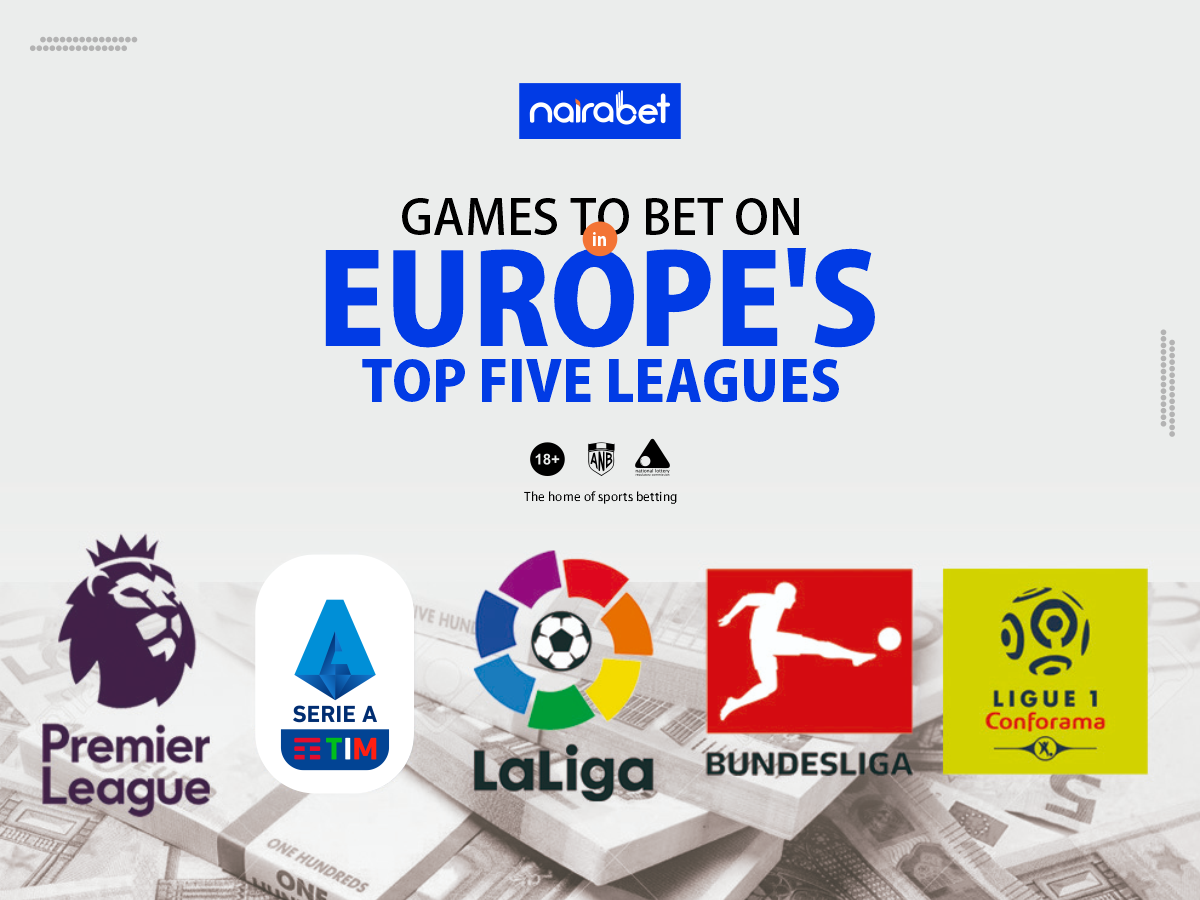 Europe's top five leagues