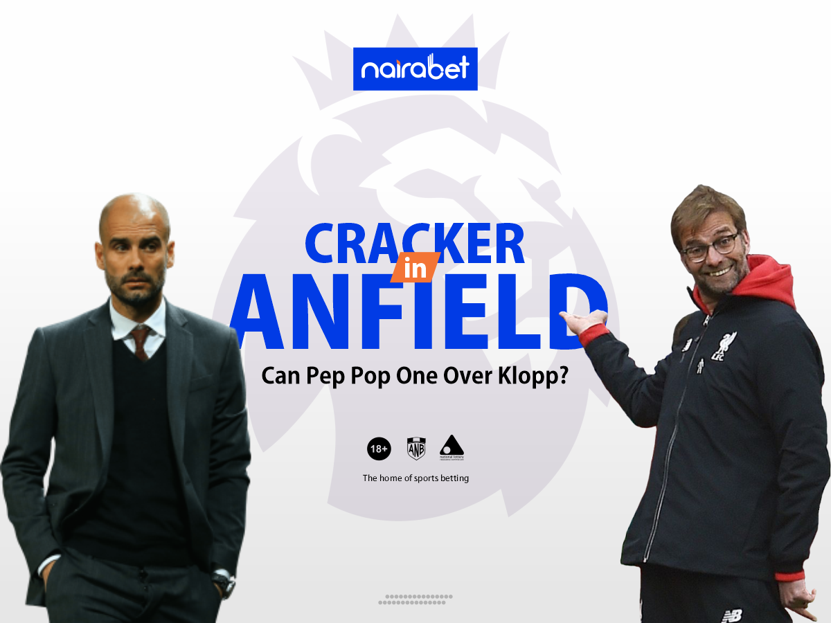 Can Pep Pop One Over Klopp